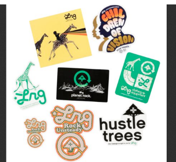SMP Clothing Skateboard Stickers 5 Pack Assorted FREE POST Skate decal